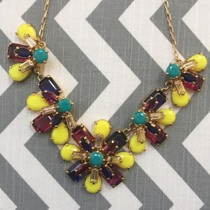 🌸Kate Spade Multicolored Flower Necklace🌸
